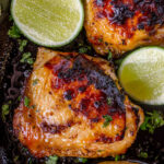 Baked Honey Lime Chicken – Dinner, Then Dessert