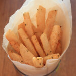 Baked Lime, Cilantro And Chili Infused Jicama Fries …