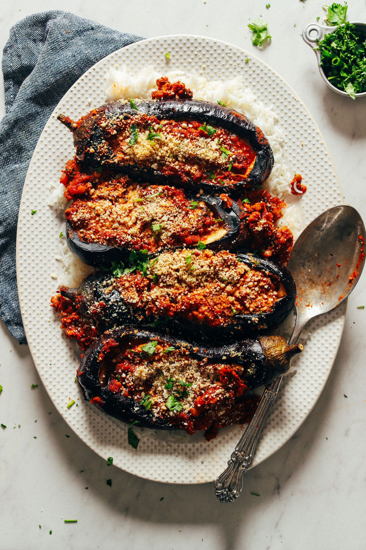 baked stuffed eggplant recipes easy