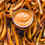 Baked Sweet Potato Fries With Sriracha Dipping Sauce …