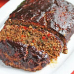 Balsamic Glazed Roasted Vegetable Meatloaf Recipe (gluten ...