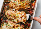 Balsamic Tomato Baked Chicken with Mozzarella Recipe ...