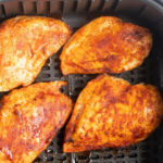 BBQ Air Fryer Chicken Breast - My Forking Life