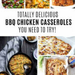 BBQ Chicken Casserole Recipes That Even The Kids Will Eat!