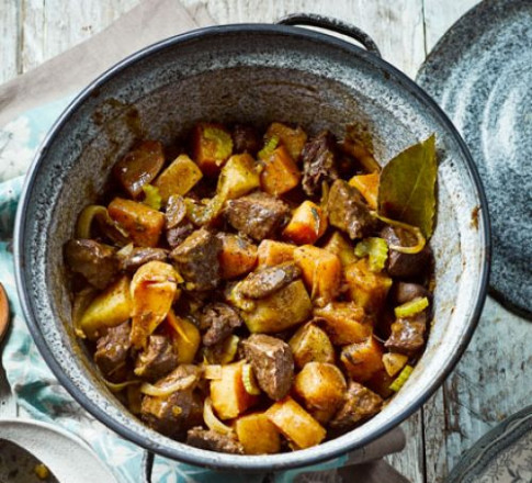 Beef & swede casserole recipe | BBC Good Food