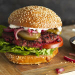 Beef and Beetroot Burgers | Food in a Minute