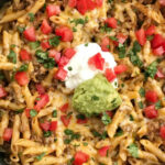 Beef Taco Pasta Skillet – Together As Family