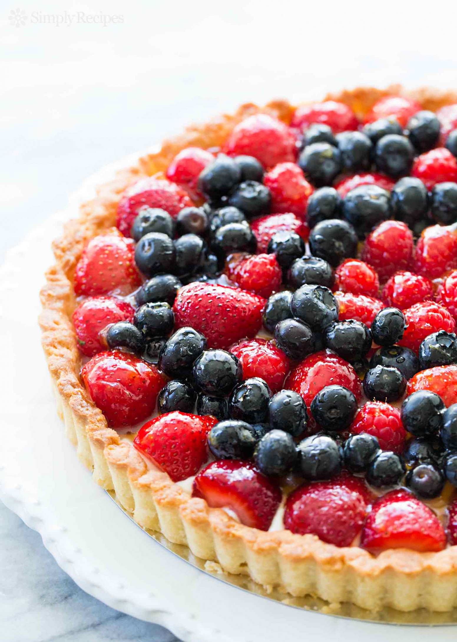 Berry Tart Recipe | SimplyRecipes.com