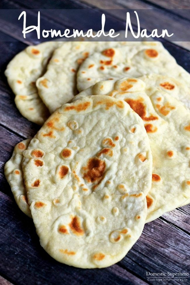Best 20+ Naan ideas on Pinterest | Naan recipe, Easy naan ...