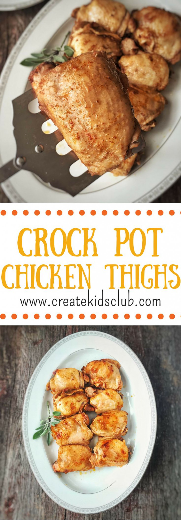 Best 25+ Crockpot chicken thighs ideas on Pinterest | Slow ...