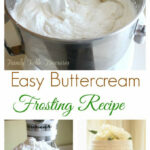 Best 25+ Easy Buttercream Frosting Ideas On Pinterest …