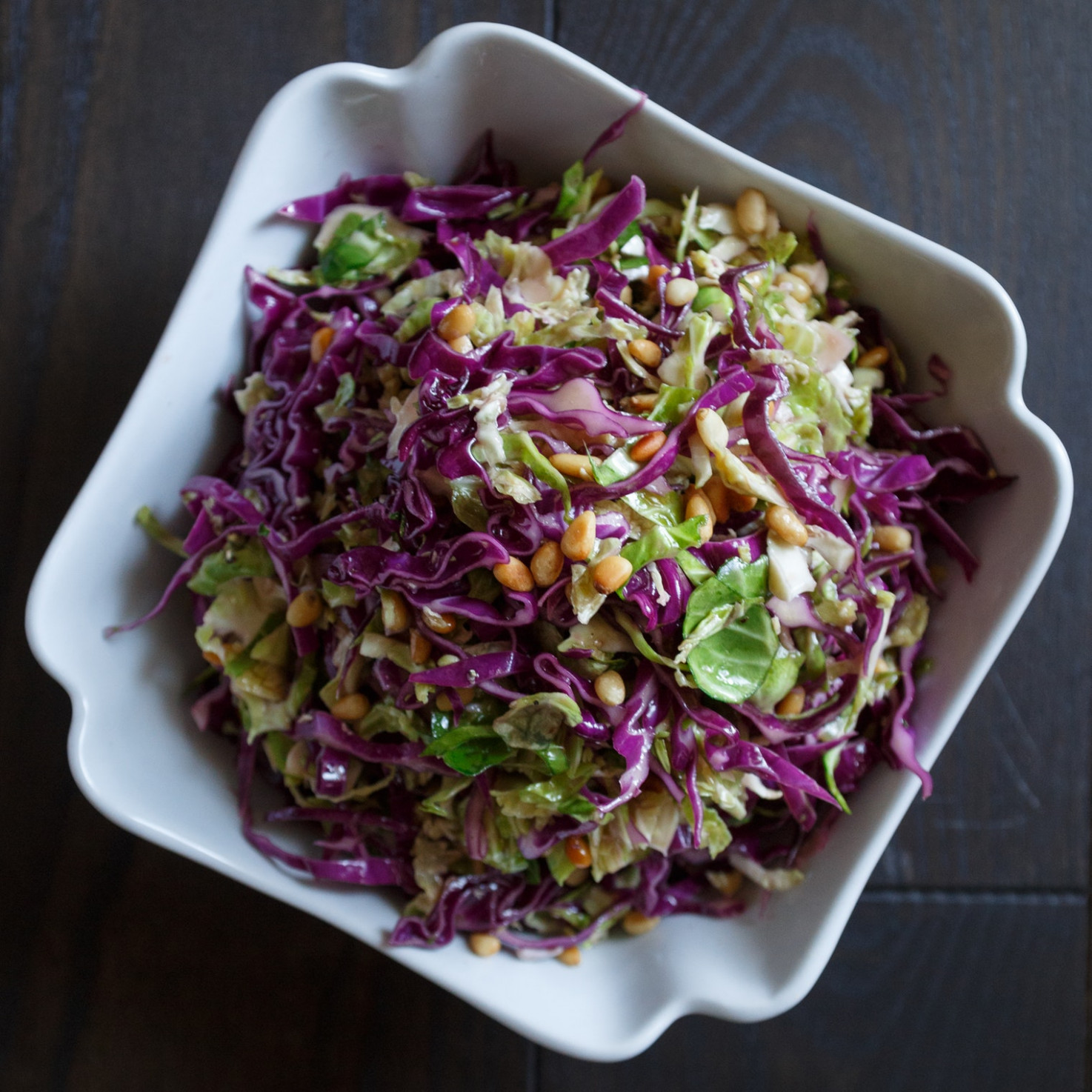 Best Brussels Sprouts And Red Cabbage Slaw Recipe – The …