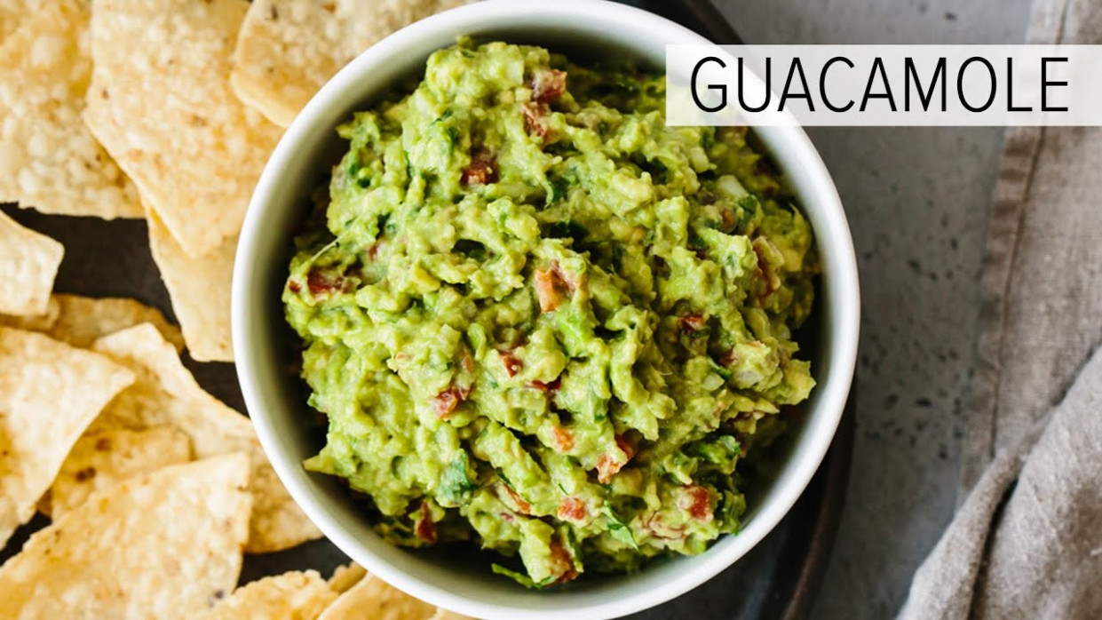 BEST EVER GUACAMOLE | easy, fresh, homemade guacamole ...