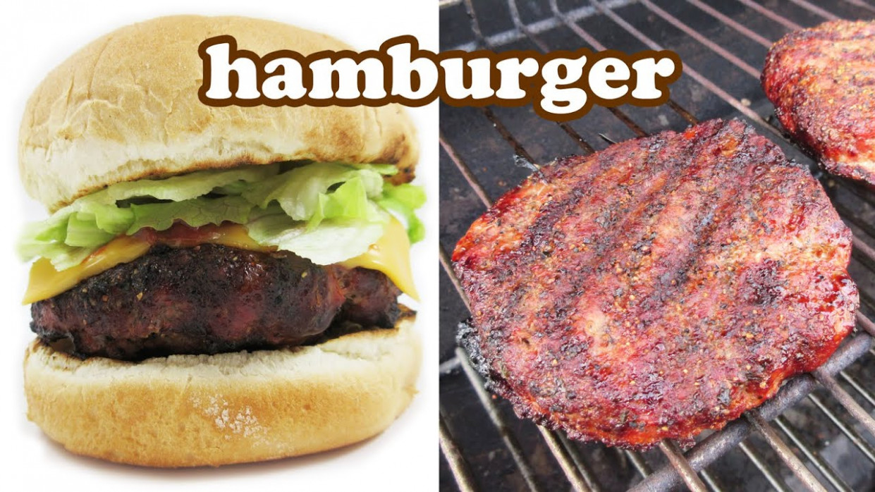 Best Hamburger Recipe - Hamburgers Cheeseburger - Burger ...