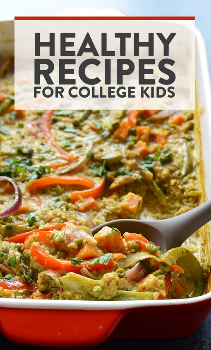 Best Healthy College Meals (budget-friendly) - Fit Foodie Finds