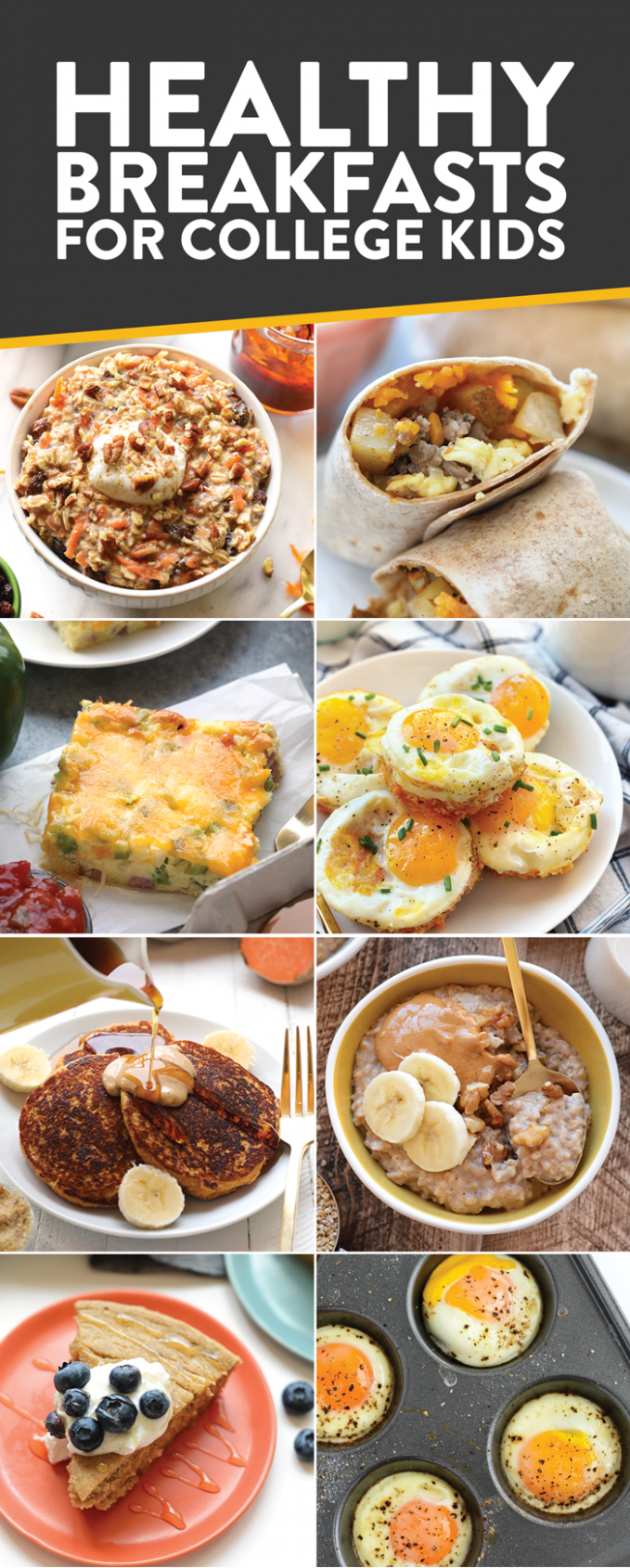 Best Healthy College Meals (budget-friendly) - Fit Foodie ...