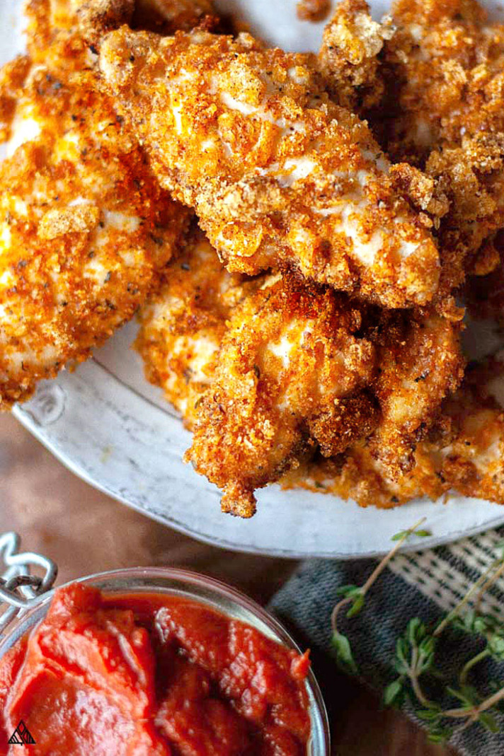 BEST Keto Fried Chicken — Crispy, Crunchy + Delicious!