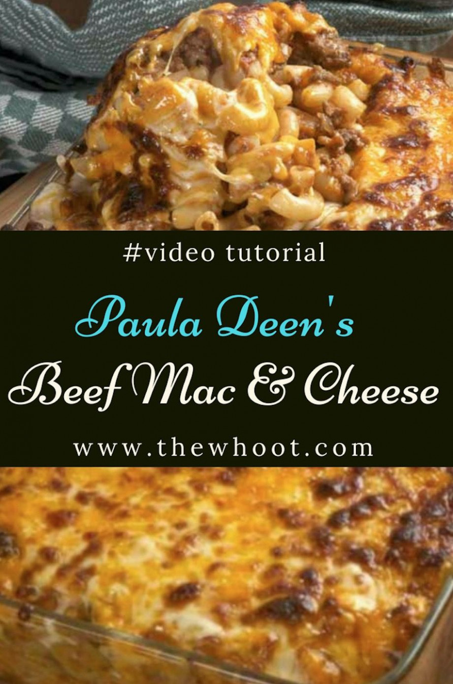 Best Mac and Cheese Recipe Of All Time | Dinners | Beef ...