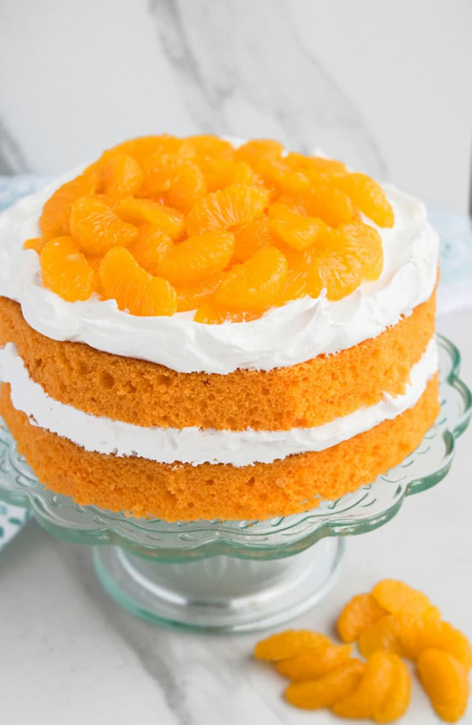 BEST Orange Cake From Scratch And Cake Mix – CakeWhiz
