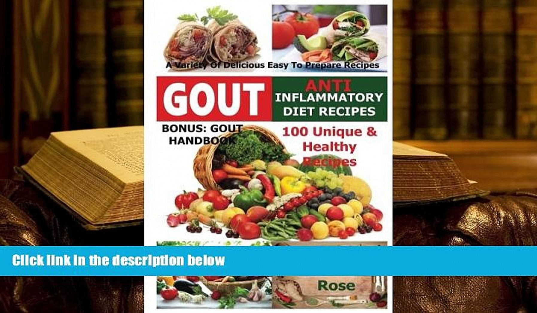 BEST PDF Gout Anti Inflammatory Diet Recipes - 10 Unique Healthy Recipes A  Variety Of