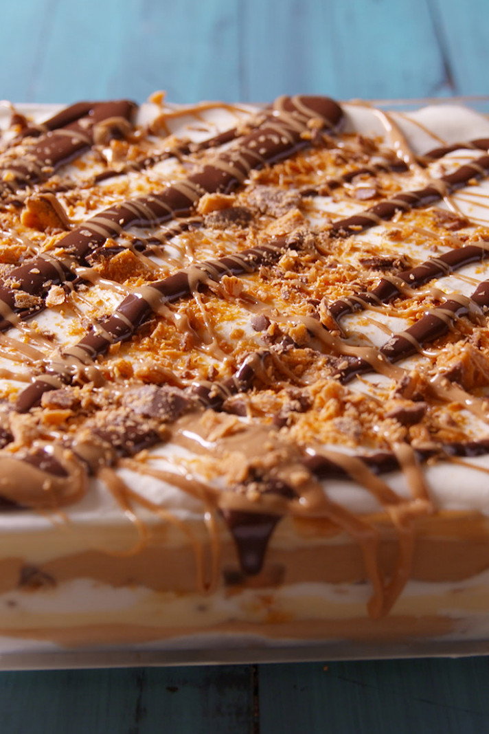 Best Peanut Butter Dessert Lasagna Recipe-How To Make ...