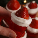 Best Santa Hat Jell-O Shot Recipe - How to Make Santa Hat ...
