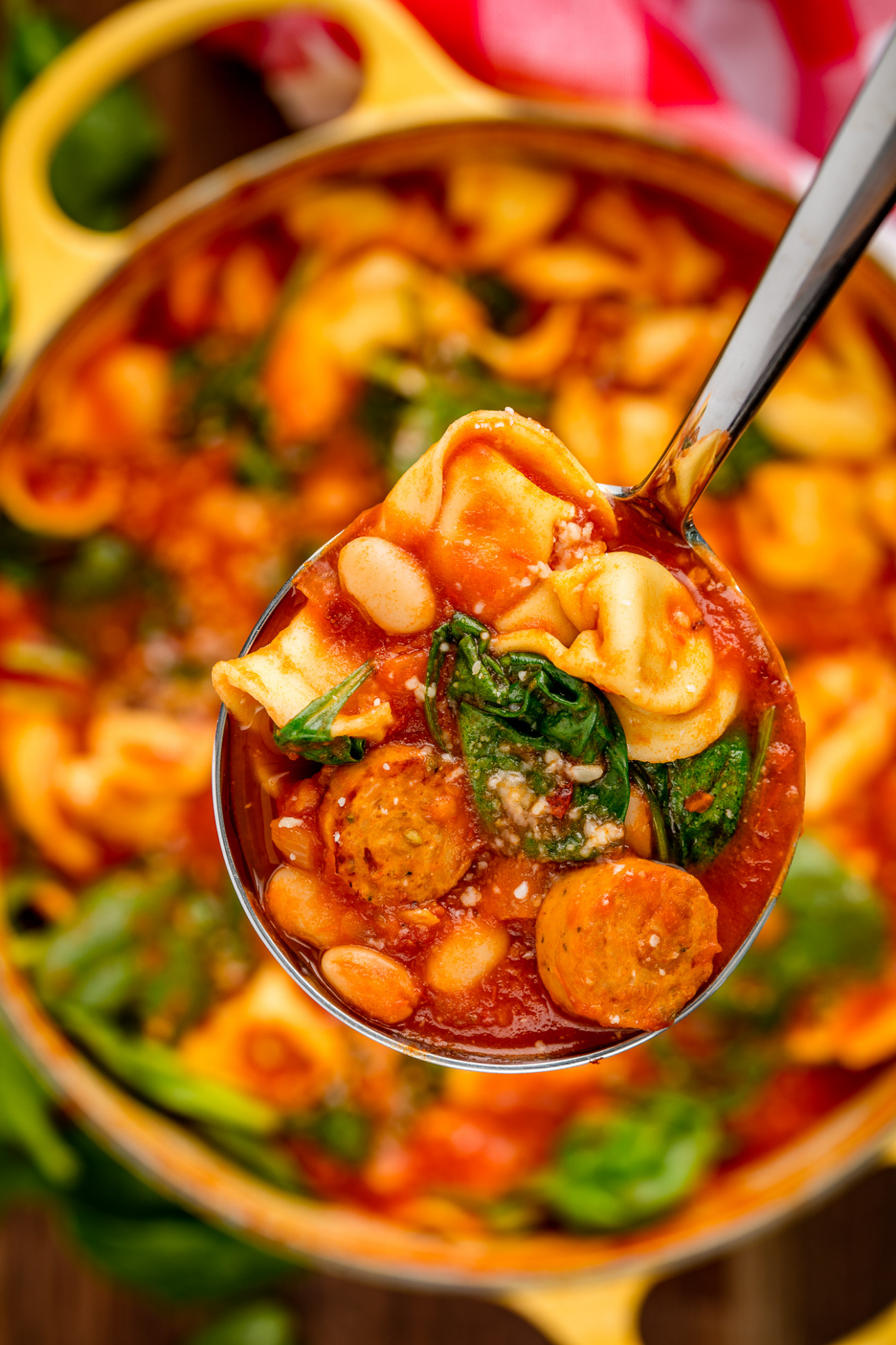 Best Tuscan Tortellini Soup Recipe - How to Make Tuscan ...