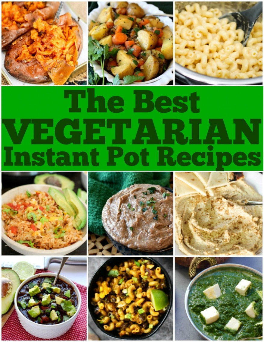Best Vegetarian Instant Pot Recipes • Domestic Superhero