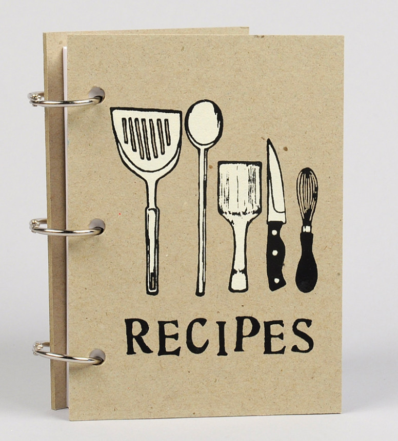 Beth Bee Books – Recipe Book (Kitchen Instruments) At …