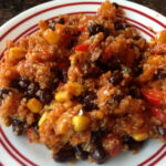 Black Bean And Quinoa Enchilada Bake. Dairy And Gluten …