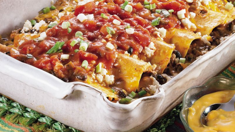 Black Bean Enchilada Casserole Recipe - Pillsbury
