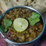 BLACK URAD DAL TADKA Recipe | Nithyaskitchen