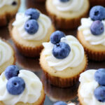 Blueberry Cupcakes   The Curvy Carrot