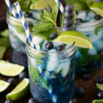 Blueberry Mojito | The Novice Chef