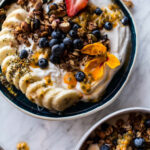 Blueberry Muffin Granola Greek Yogurt Breakfast Bowl