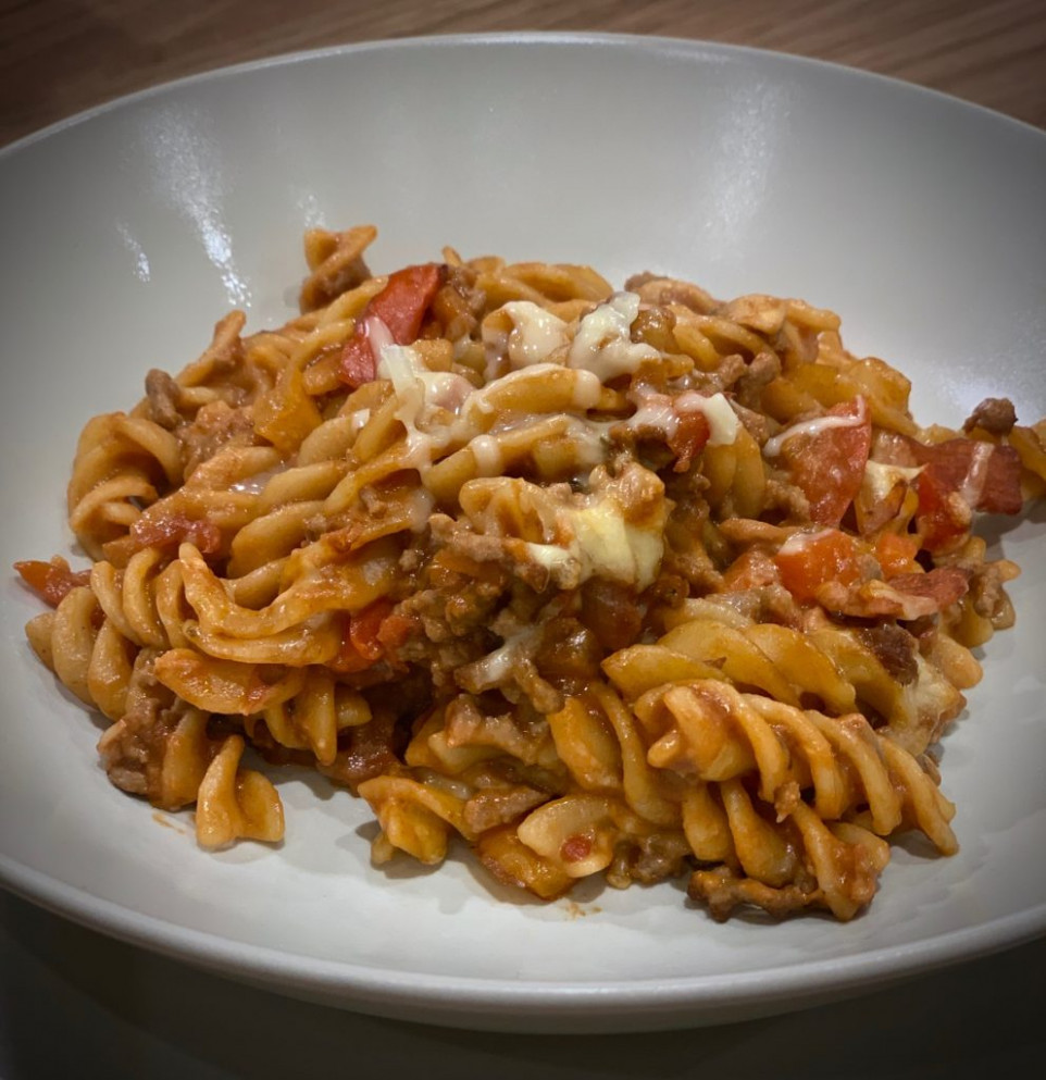 Bolognese Pasta Bake | Slimming World Recipe ...