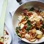 Bosh! Try this nawwwty cheesy chorizo chicken and spinach ...