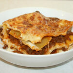 Bowl Of Lasagne Bolognese