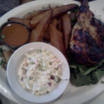 Brazilian Chicken Home Fries Creamy Coleslaw Normans Bistro
