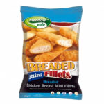 Breaded Chicken Mini Fillets | Meadow Vale Products