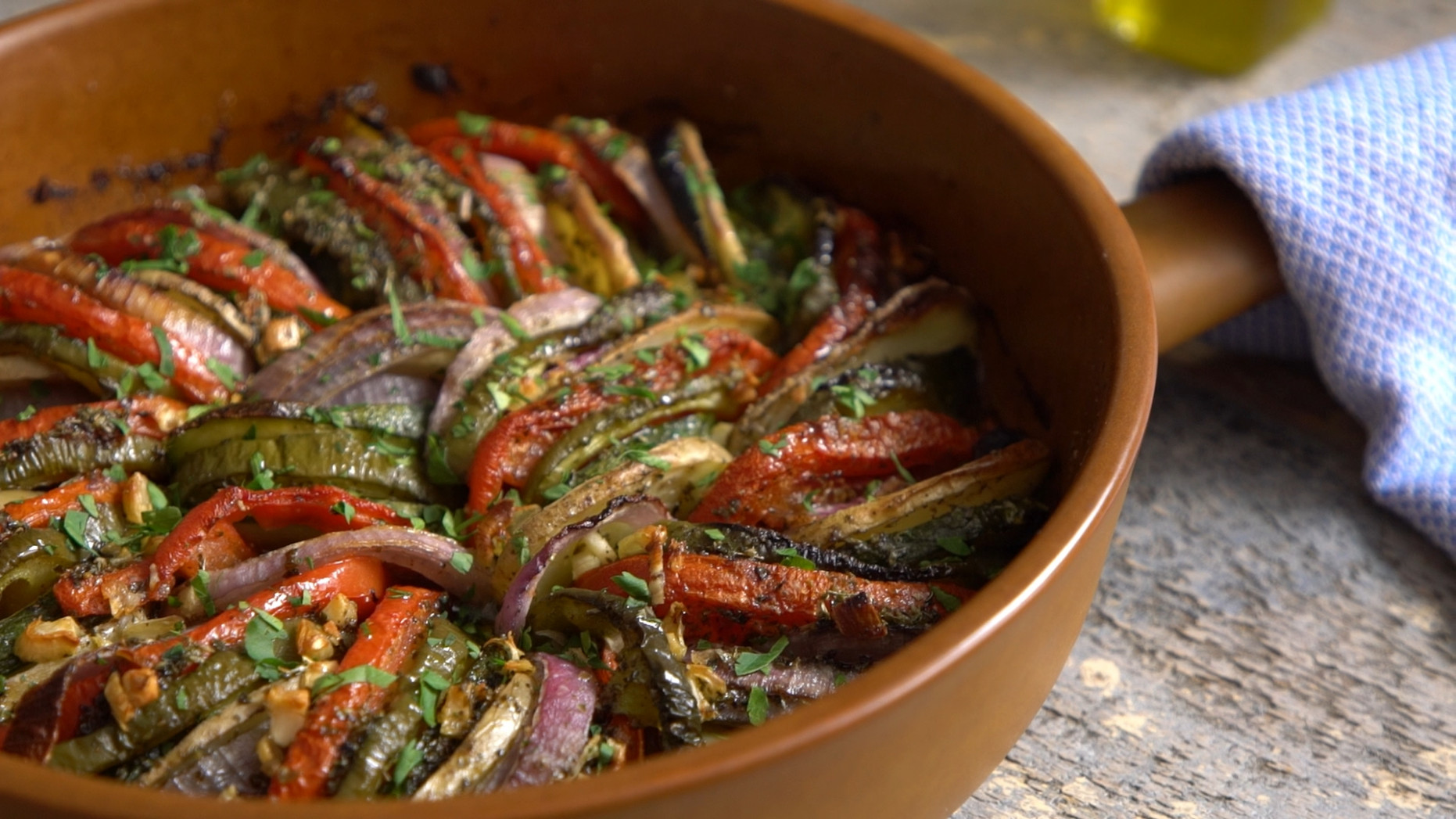 Briam, Roasted Vegetable Casserole | Greek Food - Greek ...