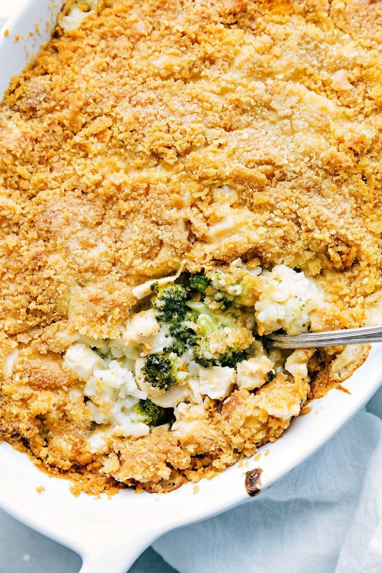 Broccoli, Cheese, & Rice Casserole