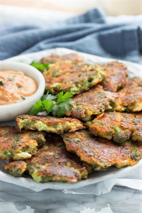 Broccoli Fritters With Cheddar Cheese (Easy, Low Carb ...