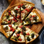 Broccoli & Sausage Skillet Pizza Recipe – EatingWell