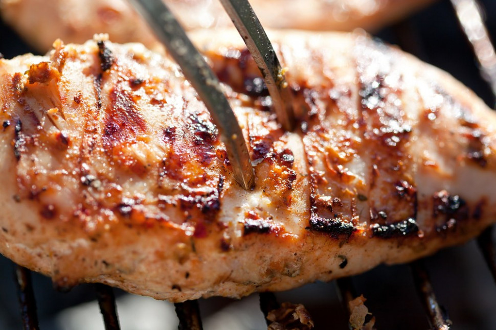 Broiled Yogurt-Ginger Chicken Breasts Recipe — Dishmaps