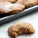 Brown Butter Snickerdoodles Gluten Free Christmas Cookies