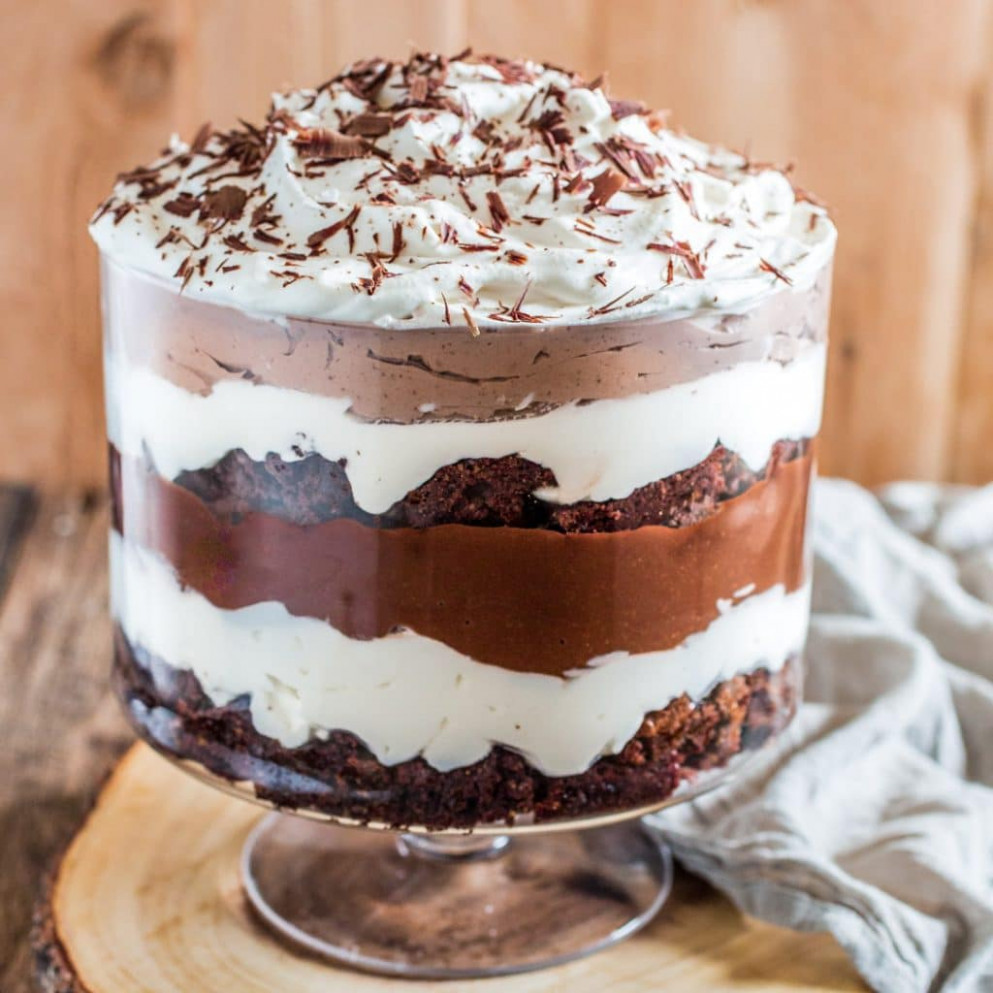 Brownie Trifle - Olivia's Cuisine