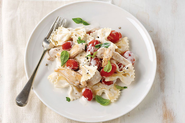 Bruschetta Chicken Pasta - Kraft Recipes