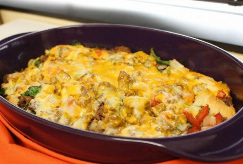 Bubble-Up Hamburger Casserole Recipe by ...