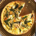 Butternut, sage & hazelnut quiche recipe | BBC Good Food
